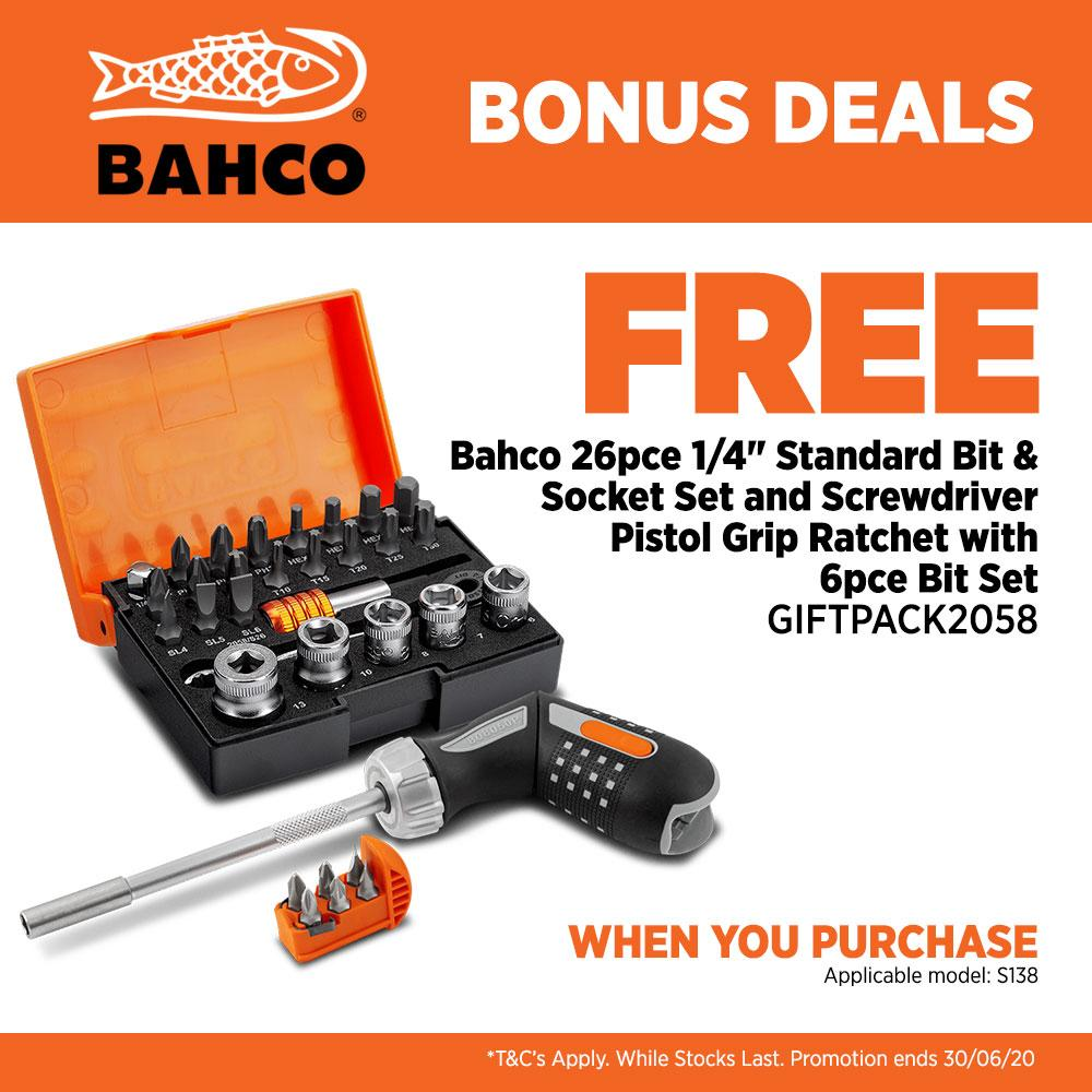 12 x 13 x 14 x 15 mm Bahco S4RM-12-15 Ratchet Wrench Double Flat