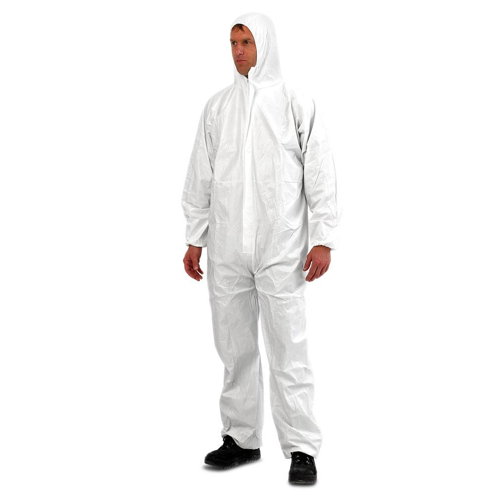 Pro Choice DOWP-2XL Provek Disposable White Coveralls (2X-LARGE)