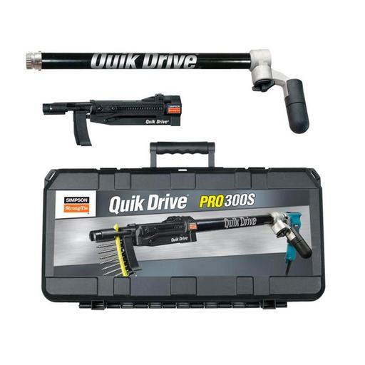 Simpson Strong-Tie PRO300SKA quik drive auto feed screw driving system