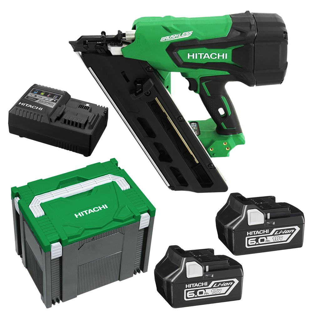 Hikoki Nr1890dbcl Hx Hitachi 18v Li Ion Cordless Brushless Framing