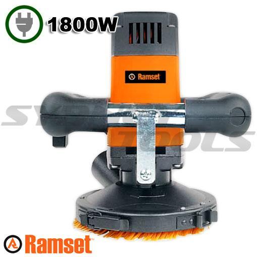 Ramset SG125E Hi-Power Hand Held Surface Concrete Grinder
