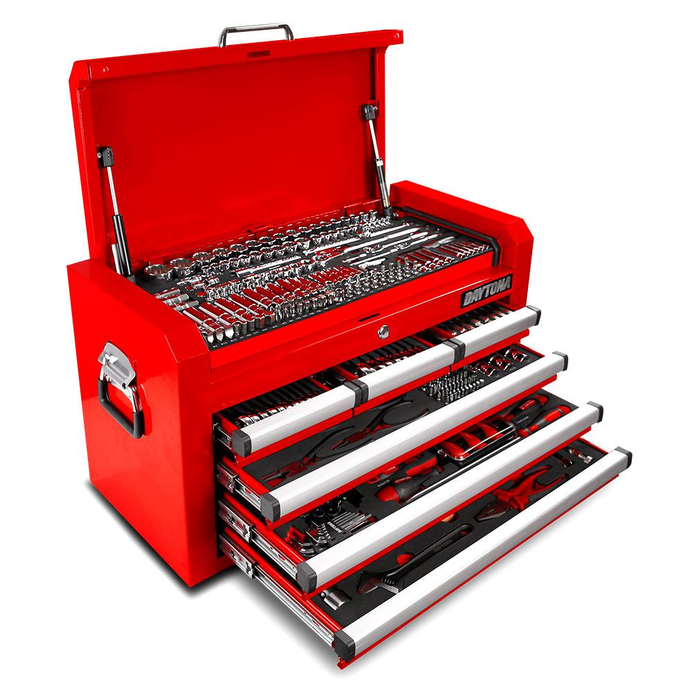 Daytona D20PS 20pce Red Mechanical Tool Box Set With 20 ...