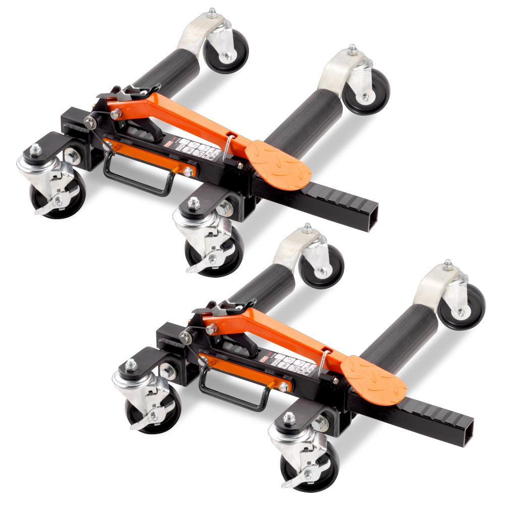Bahco Bh1cd680 2 2 Pack Car Dolly Vehicle Positioning Jack Kit