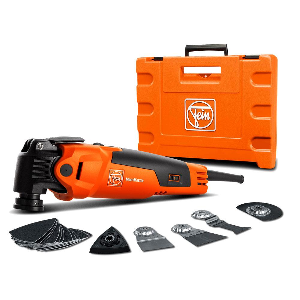 Fein FMM 350 QSL 350W MultiMaster Top Oscillator QuickStart Tool Kit