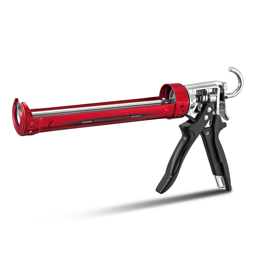 TAJIMA CONVOY SUPER ROTARY CAULKING GUN WITH AUTO FLOW STOP