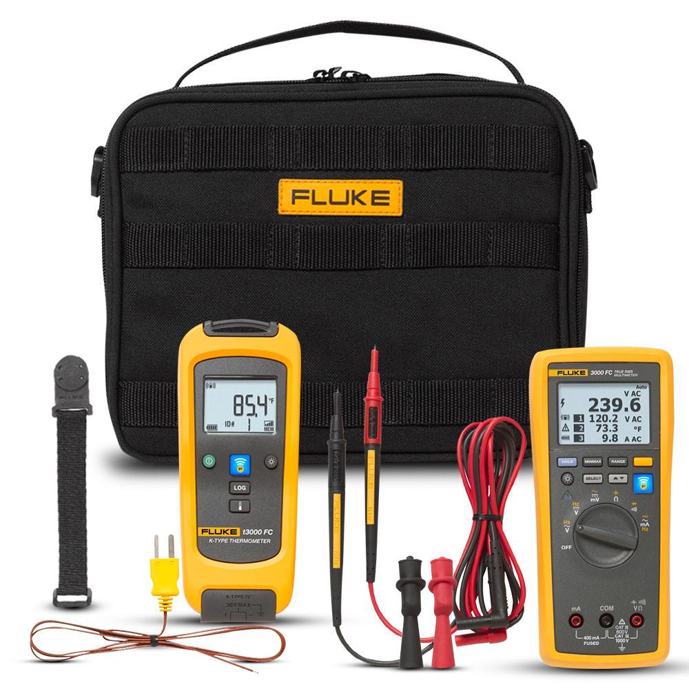 Fluke FLK-T3000 FC KIT t3000 FC Wireless Temperature Kit