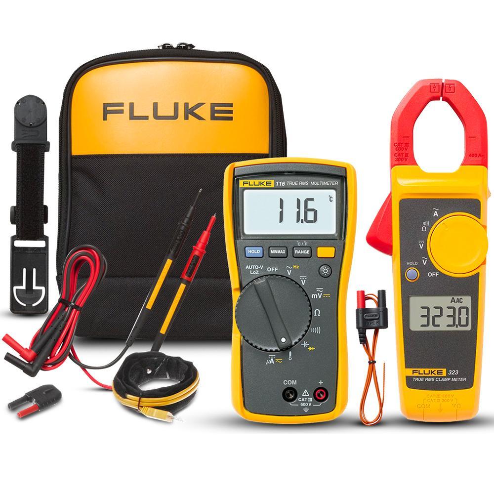 Fluke FLUKE-116/323 KIT 116/323 Multimeter and Clamp Meter HVAC Combo Kit