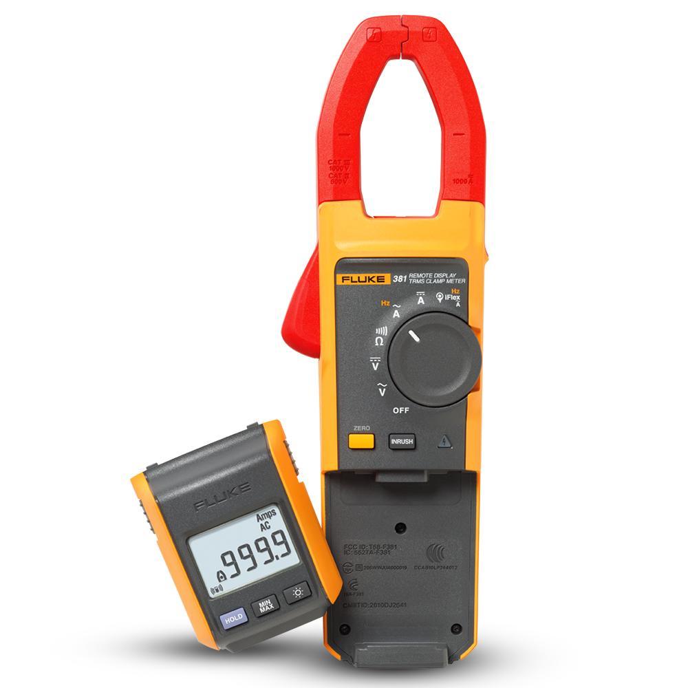 Fluke FLUKE-381 381 Remote Display True RMS AC/DC Clamp Meter with iFlex