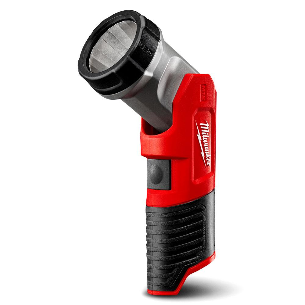 Milwaukee M12TLED-0 12V Li-Ion Cordless Compact LED Torch - Skin Only