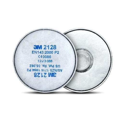 3M 2128/10 10-Pairs Particulate Filter GP2 With Nuisance