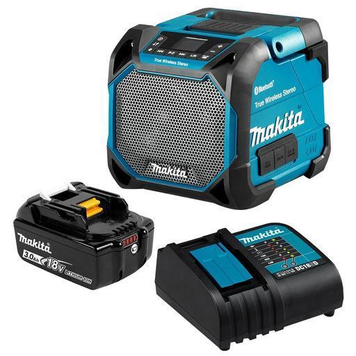 Makita DMR9SF-DTD 9V-9V Max Li-ion Cordless Portable Bluetooth Speaker  Combo Kit