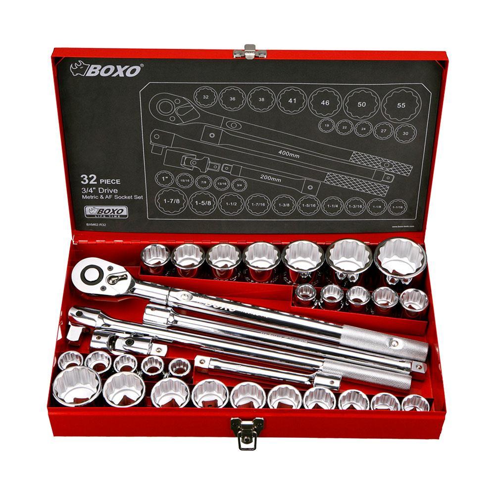 XT AUTO Universal Chrome Vanadium Steel Joint Set 1//4 3//8 1//2 Inch Drive Set 3-Piece