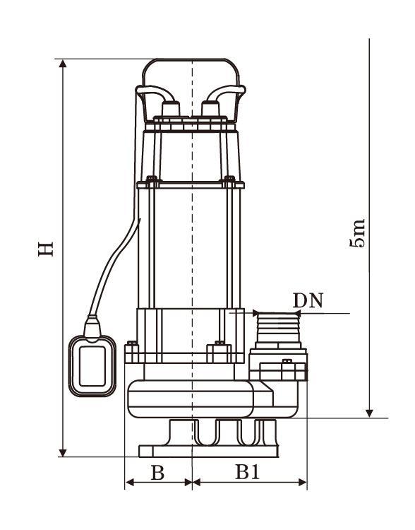 Stream SVQ450F 450W 5cm (2