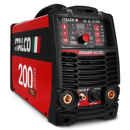 Italco 200ACDC 200 amp High Frequency AC/DC TIG Inverter Welder - Aluminium  Welding