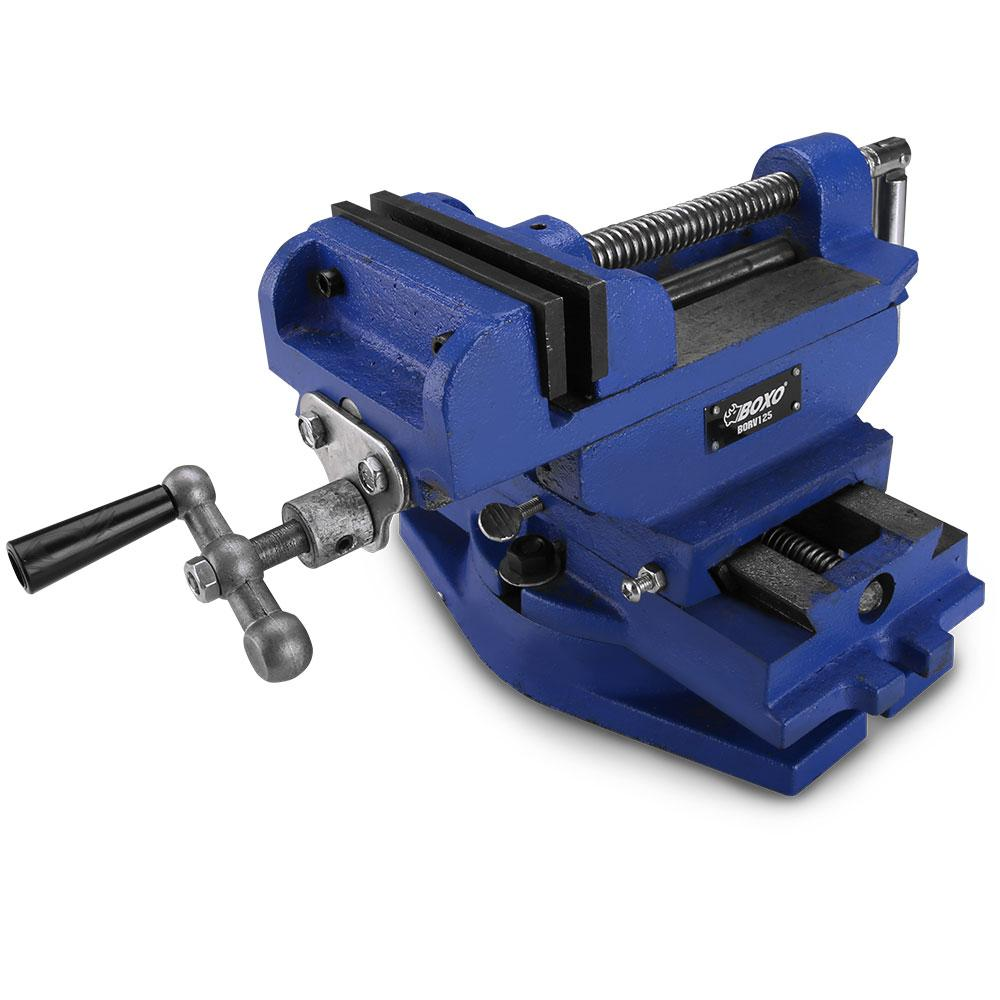 Admirable Boxo Borv125 125Mm 4 9 Heavy Duty Engineer Drill Press Vice Gmtry Best Dining Table And Chair Ideas Images Gmtryco