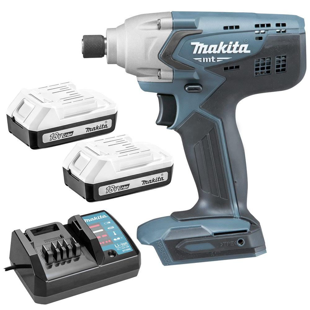 Makita M6901DWEG 18V 1 3Ah Li-ion MT Series Cordless Impact Driver Combo Kit
